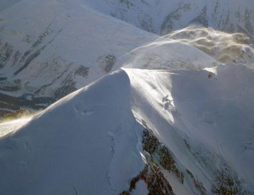 Voler en montagne en montgolfière